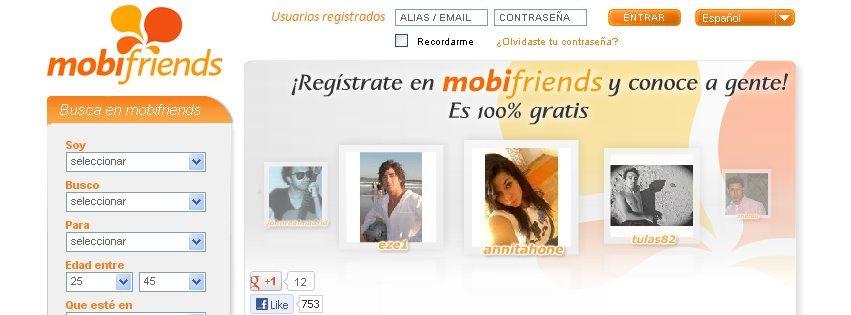 Mobifriends.com, un portal web de encuentros español que ya tiene presencia en 33 países