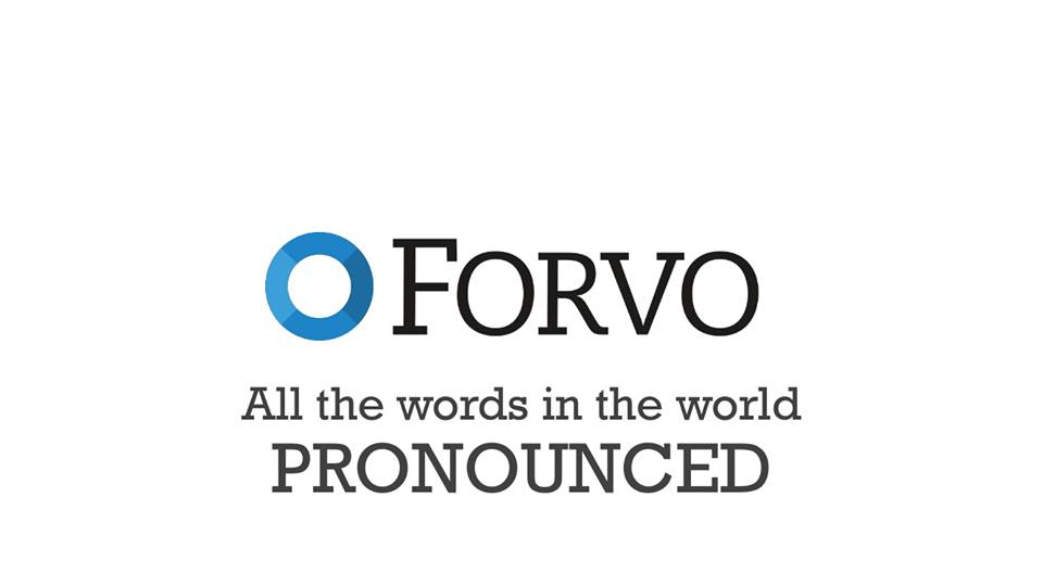 Forvo, un diccionario de pronunciación nacido en España