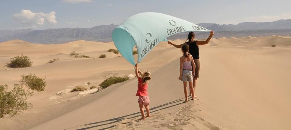 Ôbaba, una sábana de playa XXL