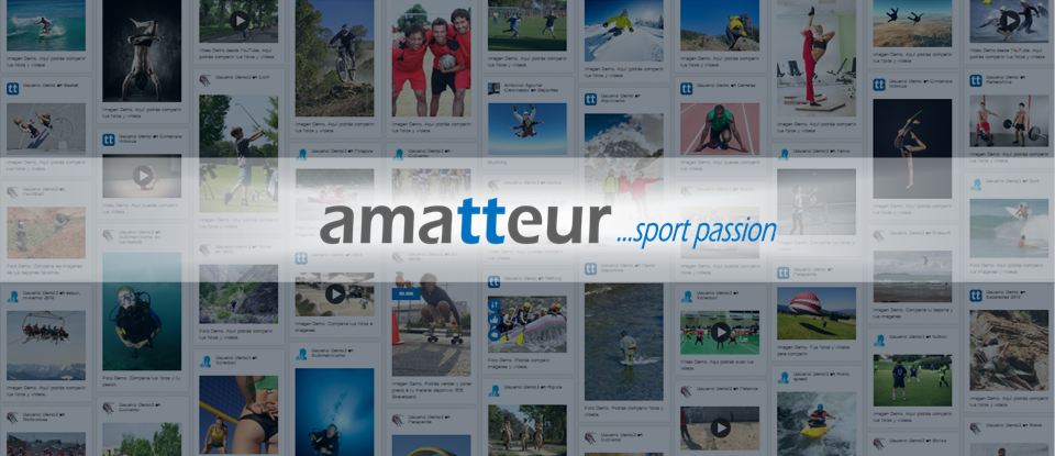 Amatteur, la red social de los deportistas