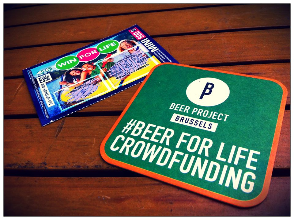 Dos emprendedores ofrecen cerveza a cambio de financiación
