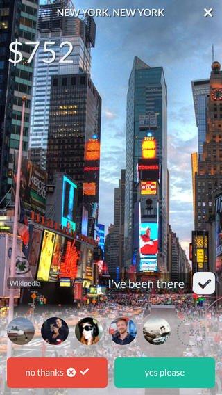 Inspírate con Hitlist, una app que te avisa de las mejores ofertas para viajar