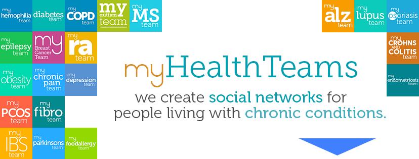 Tráete MyHealthTeams, una red social que ayuda a las personas con una enfermedad crónica