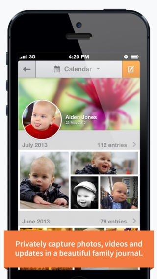 Cautiva al público con un proyecto como 23snaps, el Facebook para las familias