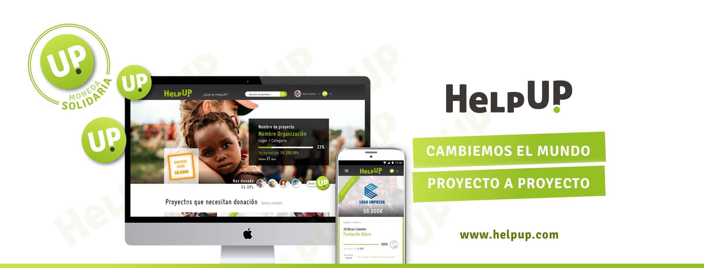 HelpUp, una red social de voluntariado que cambiará el mundo