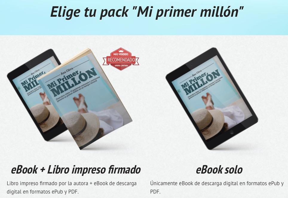 Descubre cómo ganar un millón de euros a través del libro Mi primer millón