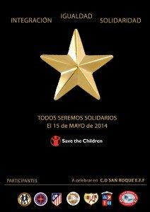 La Estrella de la Solidaridad, un evento solidario donde los niños y el fútbol son los protagonistas