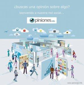 Opiniones.info, una red social para opinar y encontrar todo tipo de opiniones