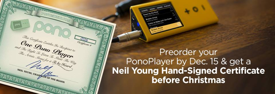 PonoMusic, un reproductor de música que recaudó más de 6 millones de dólares
