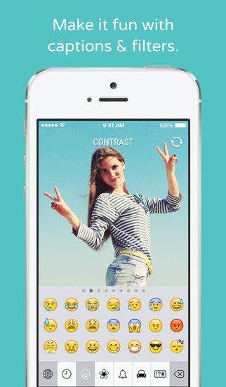 Compartir fotos es más fácil que nunca con la app Shoutout. ¡Tráela a España!
