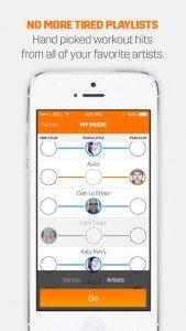 Convierte el ejercicio físico en algo divertido con una app musical como Spring Moves