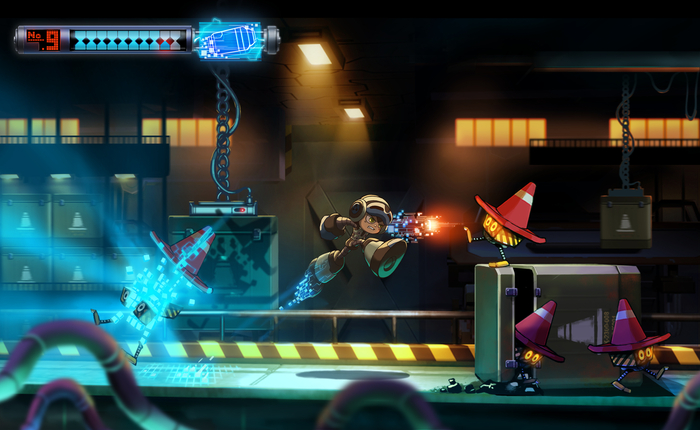El videojuego Mighty No. 9 recauda ¡más de 3 millones de dólares!