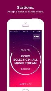 Mejora la experiencia de escuchar la radio con el móvil creando una app como SwipeRadio