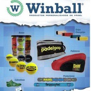 Winball Sport, una empresa española que personaliza las pelotas de pádel