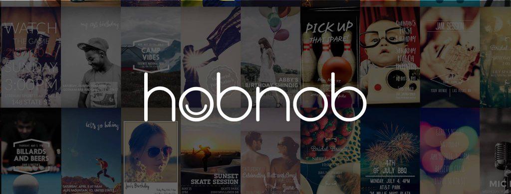 Inspírate en Hobnob, una app para crear y enviar invitaciones digitales
