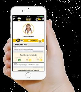 Javier González crea betMaster, una app para hacer porras en eventos deportivos reales