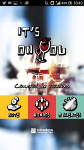 Nace It's on You, una app que lleva el control de las rondas de cañas y copas