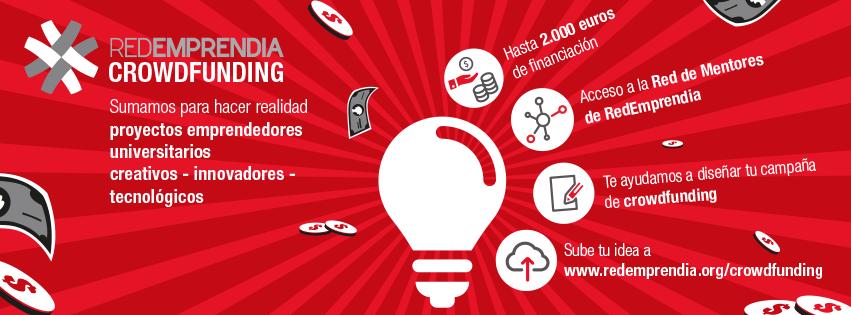 Nace RedEmprendia Crowdfunding, una plataforma para financiar proyectos universitarios