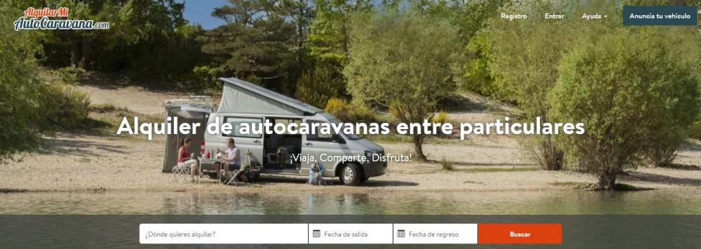 AlquilarMiAutocaravana, una startup que va sobre ruedas