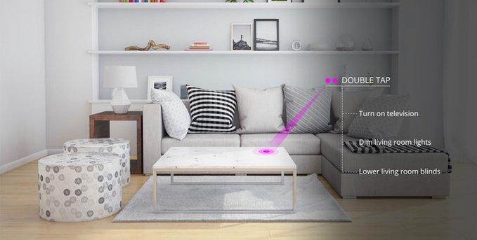 Knocki, un dispositivo inteligente para el hogar que recauda más de 350.000 dólares en Kickstarter