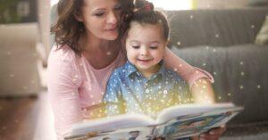 Leer cuentos infantiles en voz alta desarrolla las habilidades sociales y comunicativas de los bebés