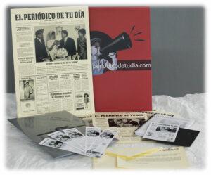 El Periódico de Tu Día, un regalo original que reúne las noticias de un día concreto