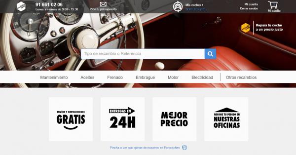 Endado.com, una tienda on-line de recambios de coche que ha cerrado una inversión de 300.000 euros
