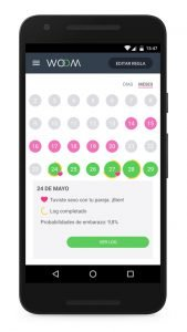 Woom, una app que ayuda a las mujeres a quedarse embarazadas