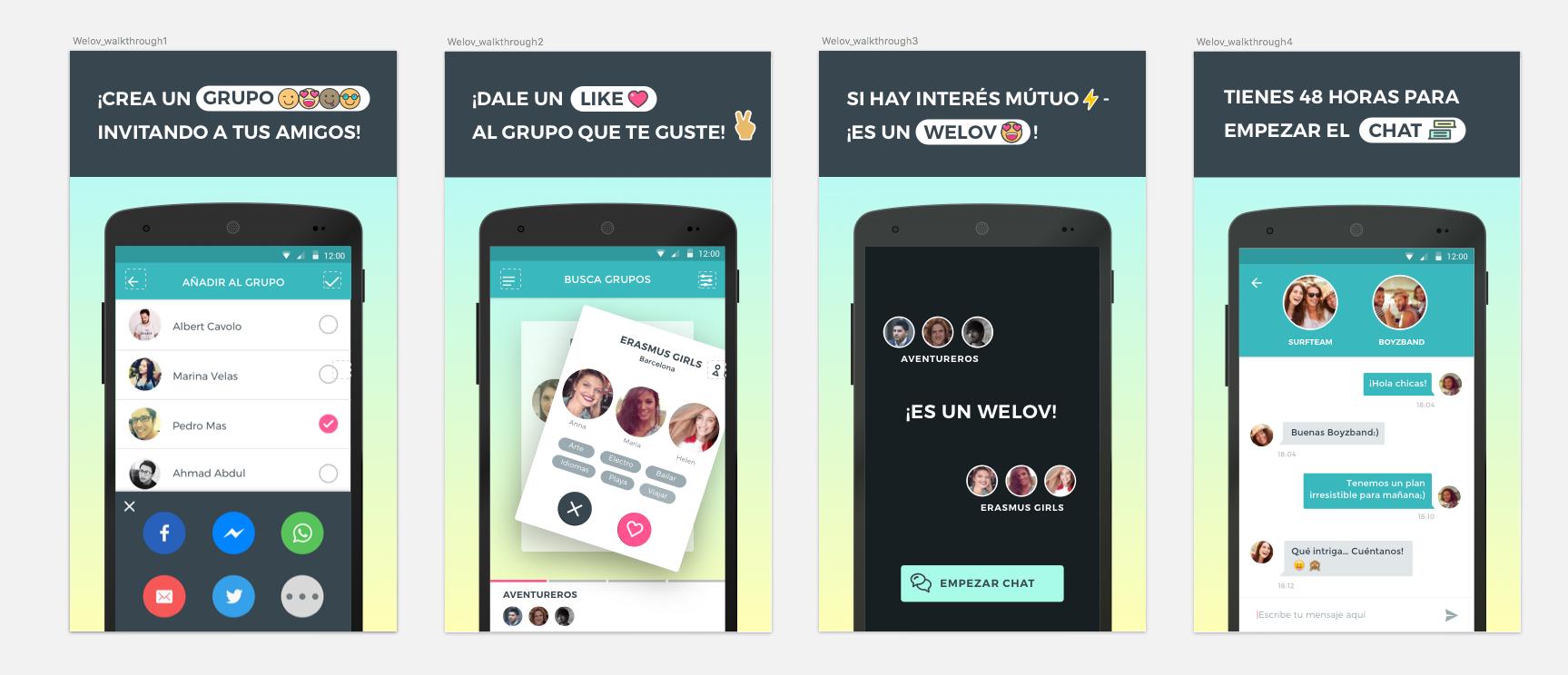 Emprendedores andaluces crean Welov, una app dating que ya ha alcanzado las 50.000 descargas