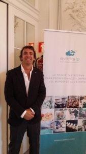 Entrevista al emprendedor Diego Herrero, CEO de la plataforma para organizadores de eventos Events IP