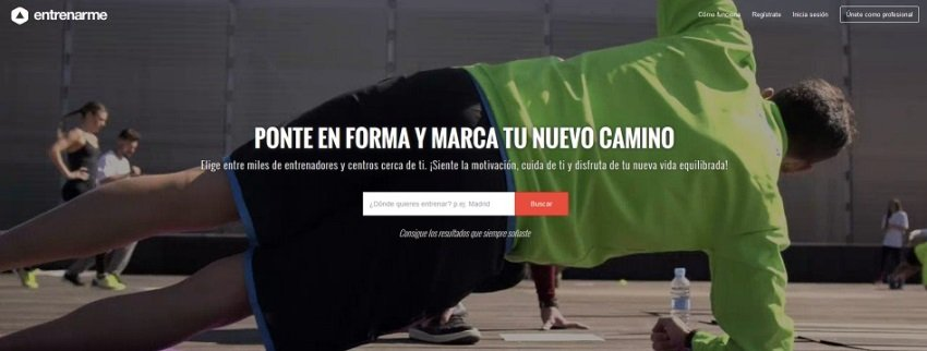El buscador on-line de entrenadores y centros deportivos Entrenarme recibe 405.000 € de financiación