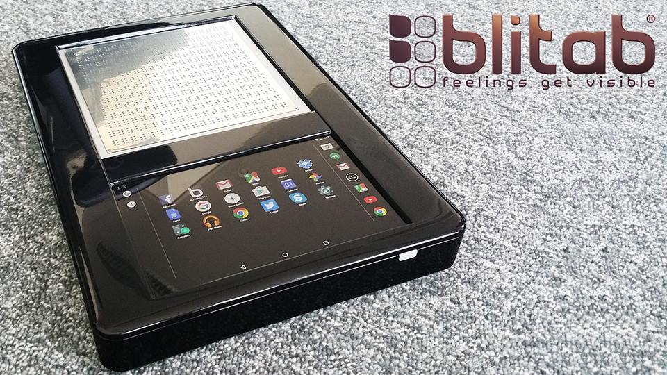 Inspírate en Blitab, una tablet Android para personas con discapacidad visual