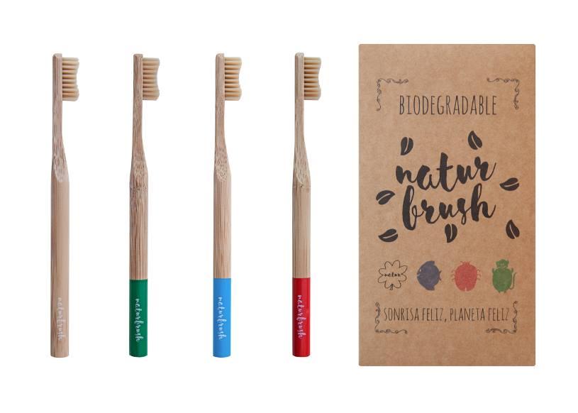 Naturbrush, un cepillo dental 100 % biodegradable fabricado con bambú ecológico