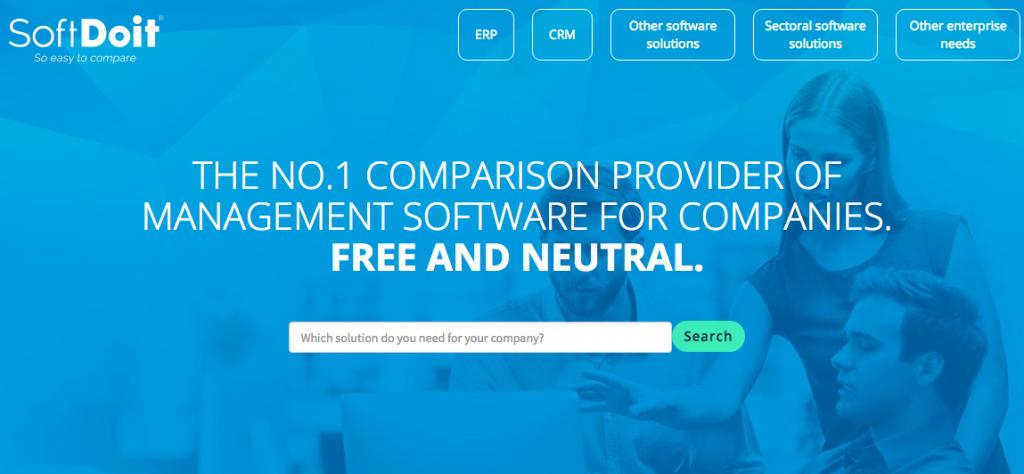 El comparador online de software SoftDoit lanza su versión para Reino Unido