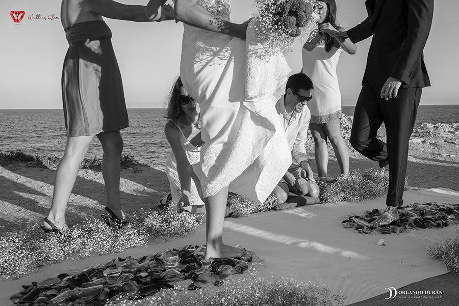 La emprendedora Sara Segura crea un ritual único en el mundo para celebrar una boda