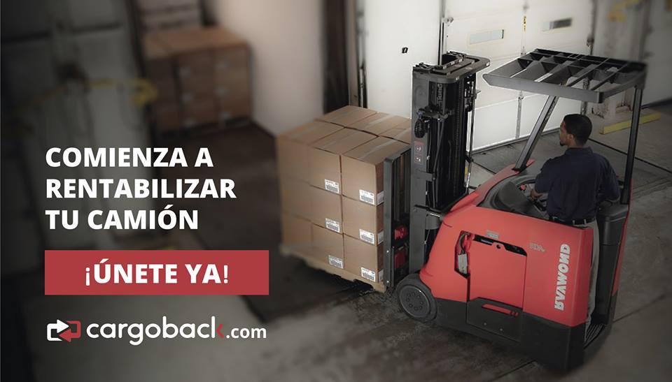 Cargoback, el nuevo Uber de los camiones