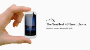 Jelly, un mini-smartphone con pantalla de 2,5 pulgadas que ha recaudado más de 884.000 dólares