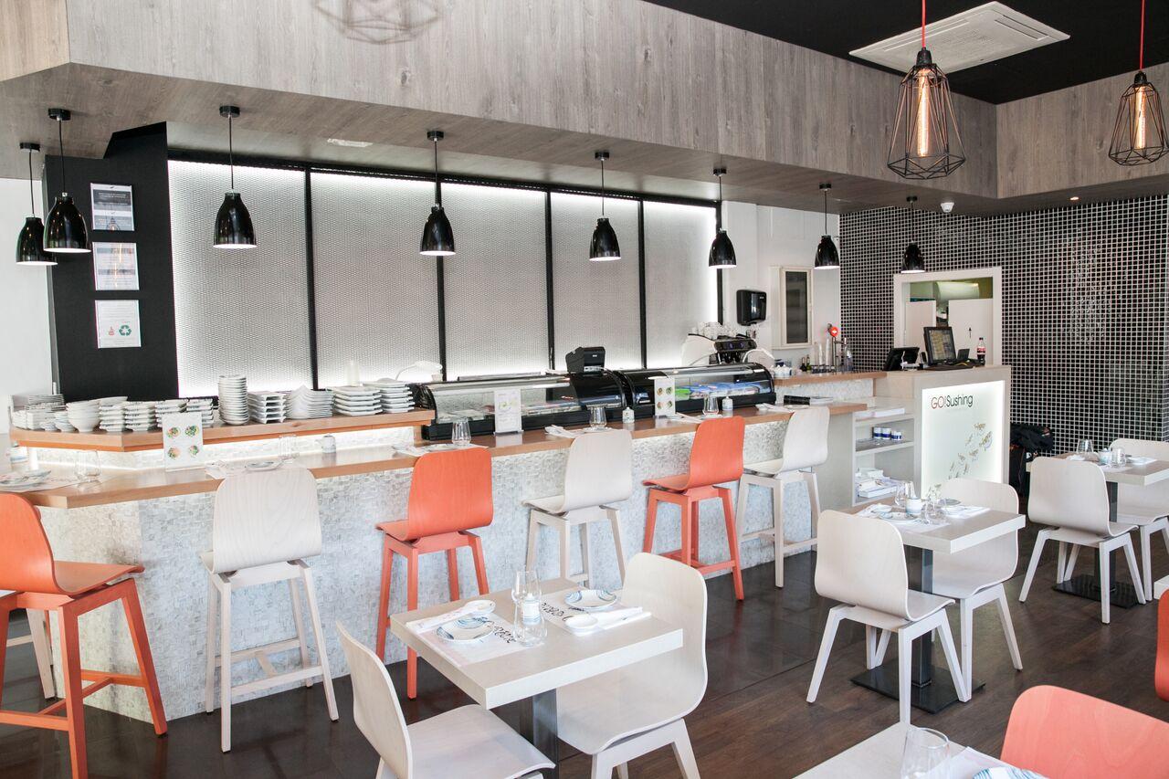 GO! Sushing Les Corts, un restaurante de comida a domicilio que apuesta por la innovación