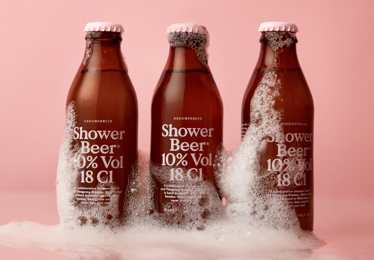 ¿Buscas ideas de negocio innovadoras? Descubre Shower Beer, una cerveza que se bebe en la ducha