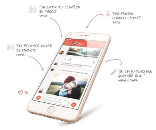 Nace Lifeed, una app creada para contar las vivencias de los primeros años de vida de los hijos