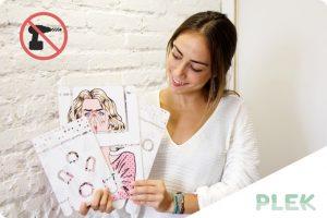 Españoles crean PLEK, un mueble para colgar cosas en las paredes sin hacer agujeros