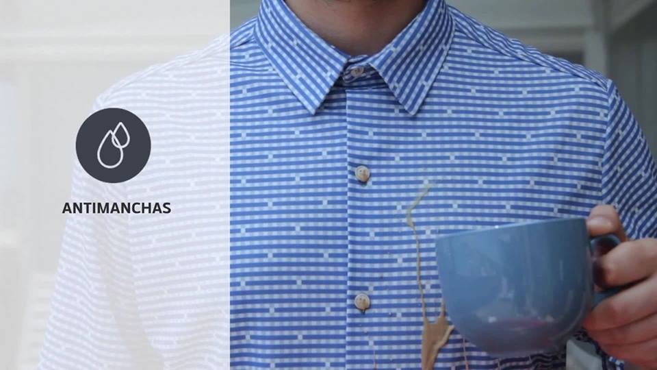 Emprendedores españoles crean un tejido que no se mancha, no se arruga y no huele