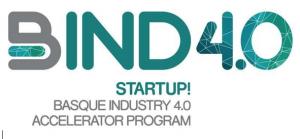 BIND 4.0, el programa internacional para la aceleración de STARTUPS de la INDUSTRIA 4.0