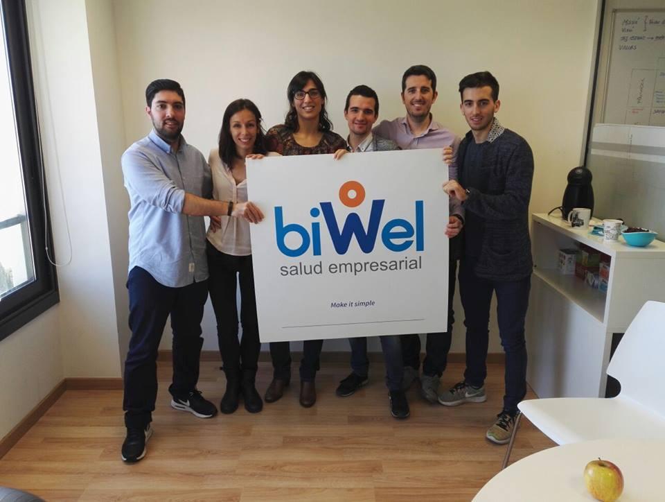Biwel, una plataforma que mejora los hábitos de salud de los trabajadores