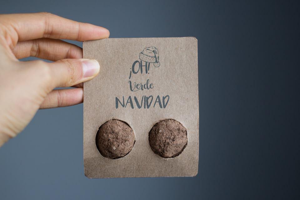 Sorprende a tus clientes con tarjetas de Navidad que se pueden plantar