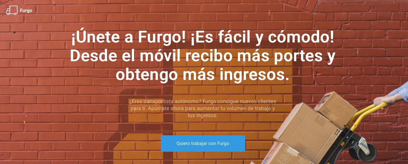 ¿Eres autónomo? El marketplace de transportes Furgo busca 3.000 transportistas