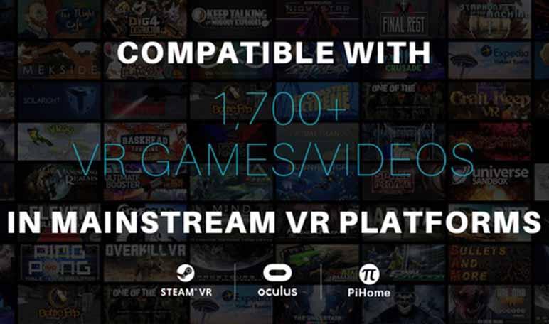 Pimax, unas gafas de realidad virtual que recaudaron más de 4 millones de dólares