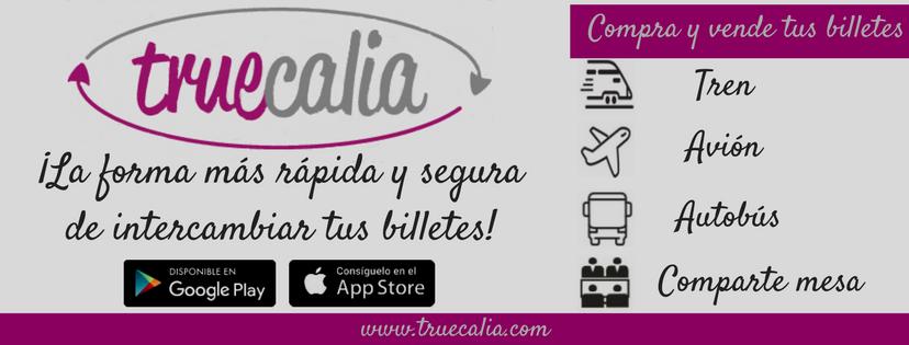 Truecalia Pay, un servicio para comprar y vender billetes de transporte entre particulares