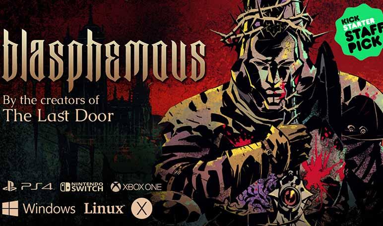 Blasphemous, un videojuego español que recaudó más de 330.000 dólares en Kickstarter