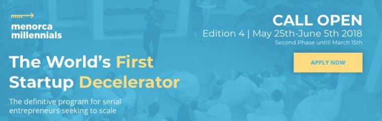 Menorca Millennials apuesta por la innovación y la sostenibilidad para seleccionar 30 startups